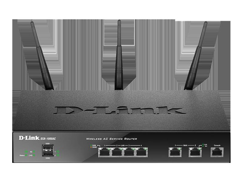 D-Link Wireless AC Unified Services VPN Router