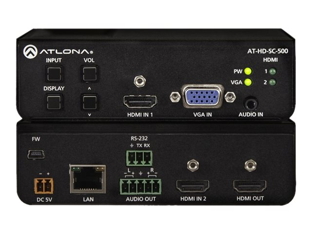 Atlona Three-Input Scaler for HDMI