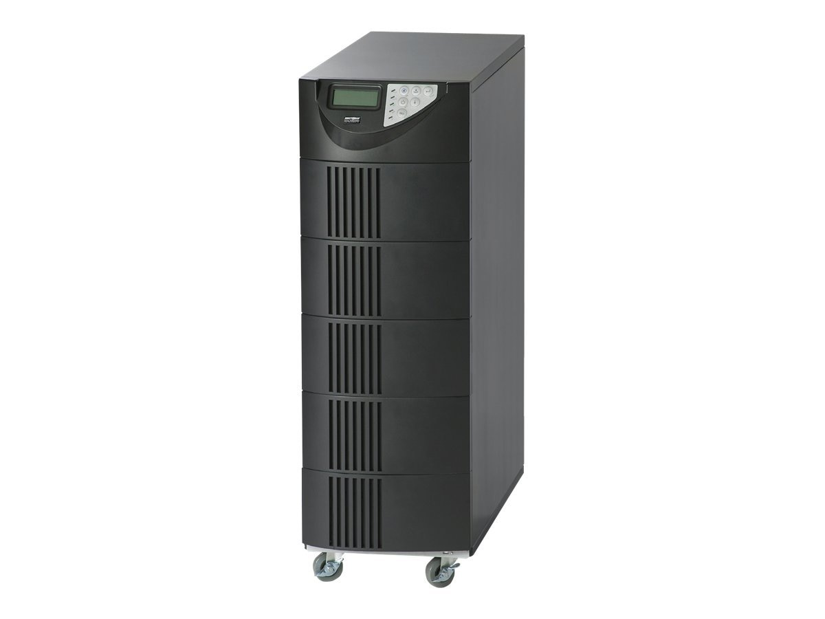 Minuteman Endeavor 10,000VA 7,000W Online Tower UPS 208V Input 120 208V Output, ED10000T, 9418948, Battery Backup/UPS