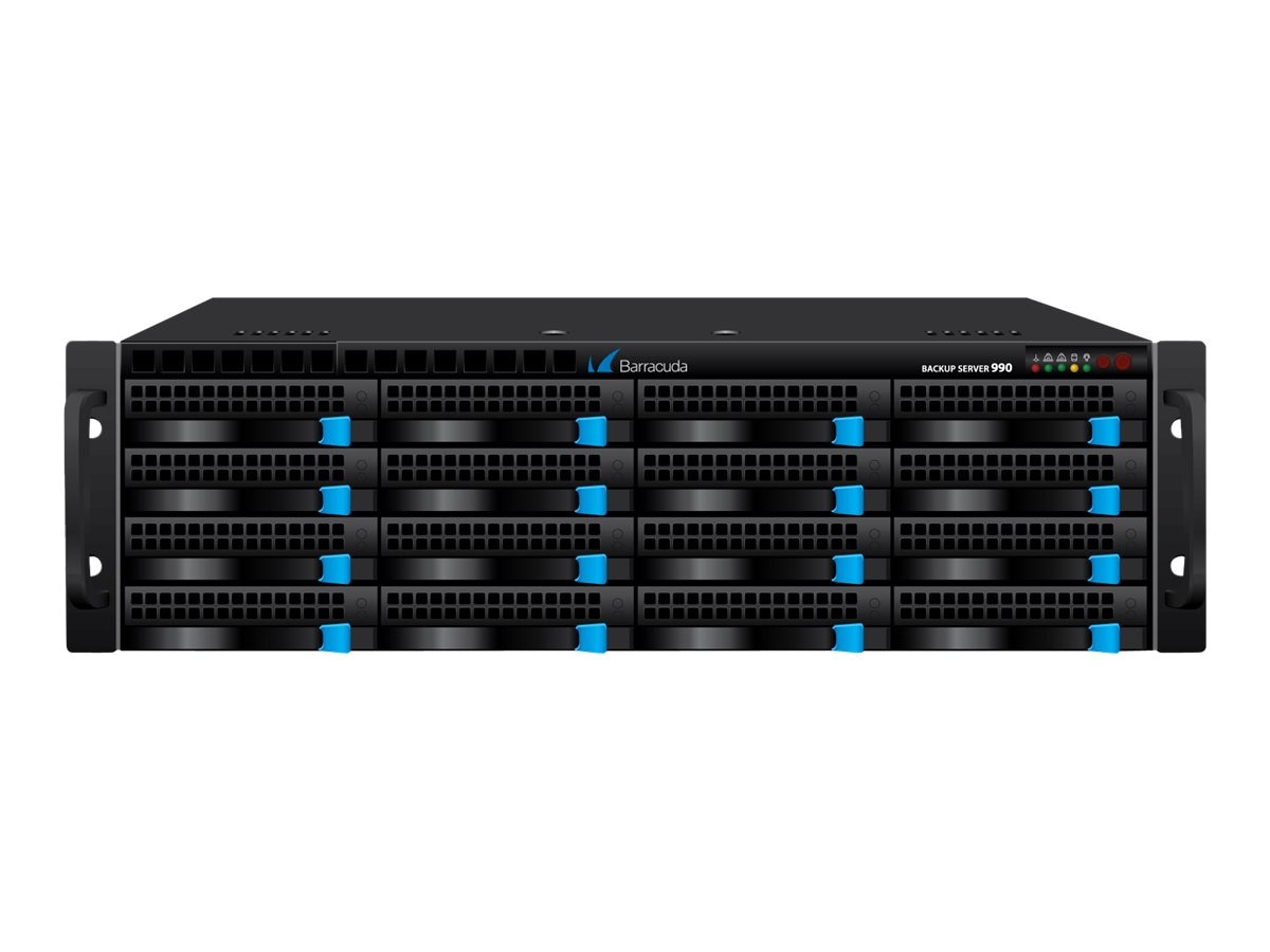 Barracuda Backup Server 990 w 3-year Energize Updates, BBS990A3, 12838038, Disk-Based Backup