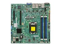 Supermicro Motherboard, Haswell UP X10SLM+-LN4F
