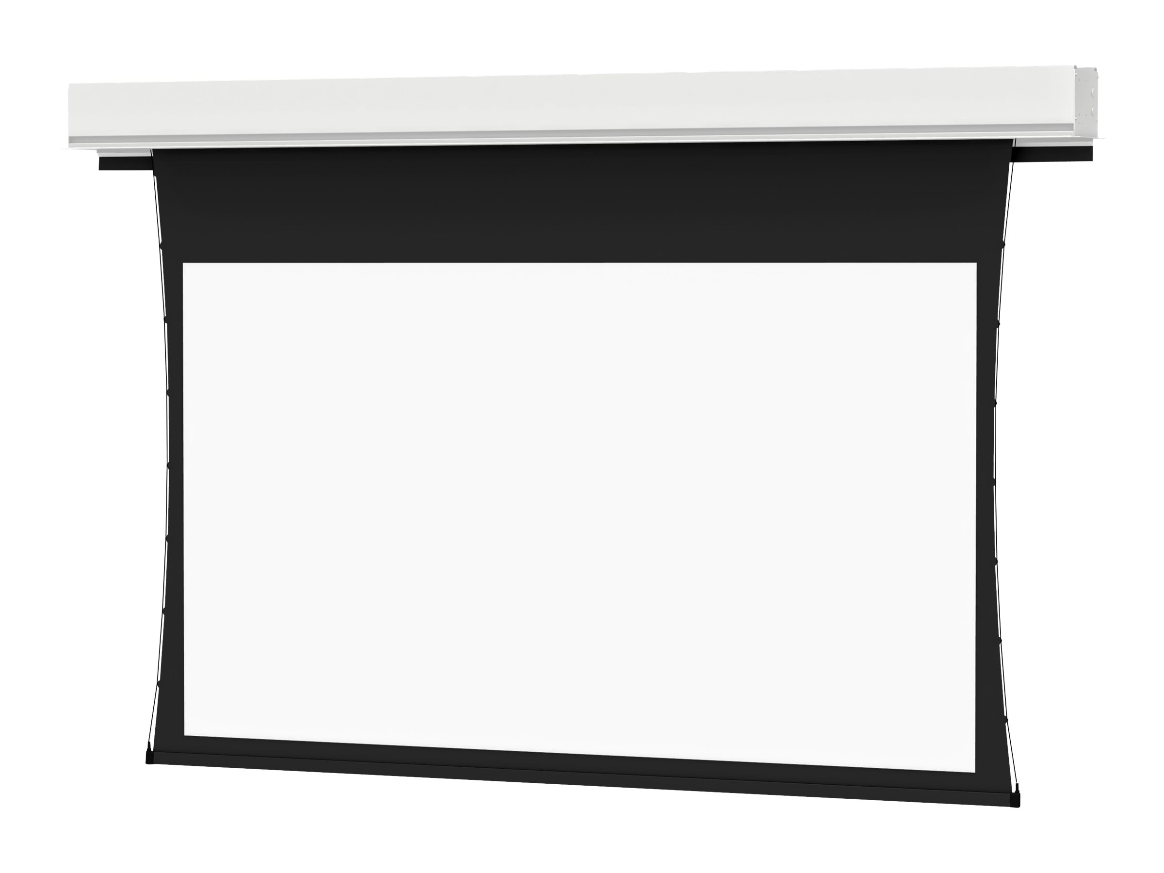 Da-Lite Tensioned Advantage Deluxe Electrol Projection Screen, 16:10, 123, 24859, 24171584, Projector Screens