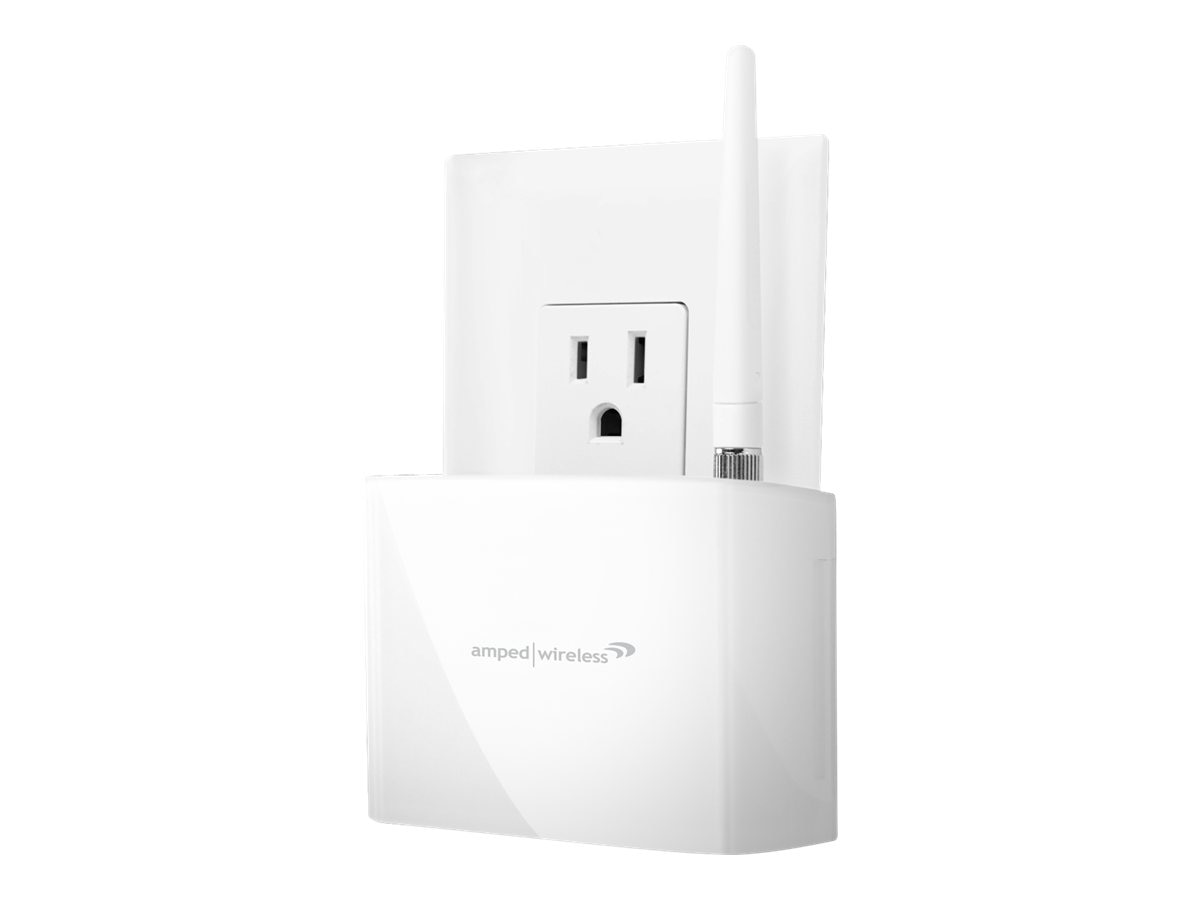 Amped Wireless REC10 High Power 600mW Compact Wi-Fi Range Extender, REC10, 15483965, Wireless Access Points & Bridges
