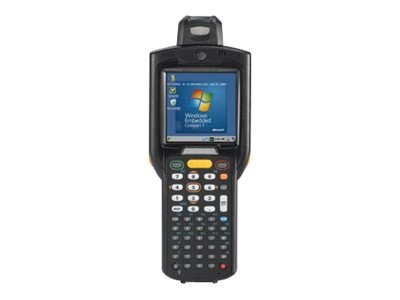 Zebra Symbol MC3200 Rotating Head 1D Laser 48-key Wi-Fi 802.11abgn, BT, Std Battery, Android Jelly Bean, Exp Mem