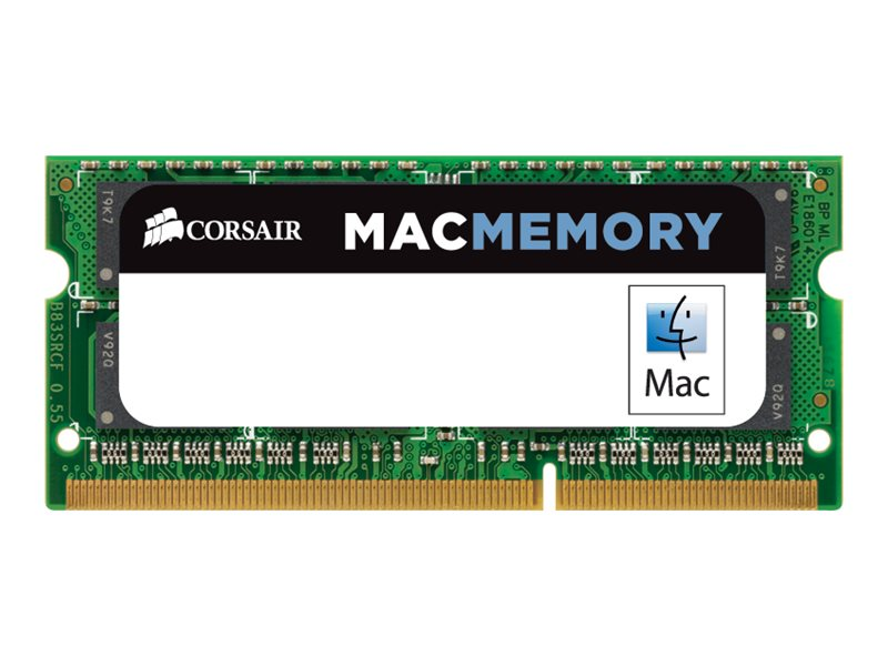Corsair 4GB PC3-10600 204-pin DDR3 SDRAM SODIMM for iMac, MacBook, CMSA4GX3M1A1333C9, 13170834, Memory