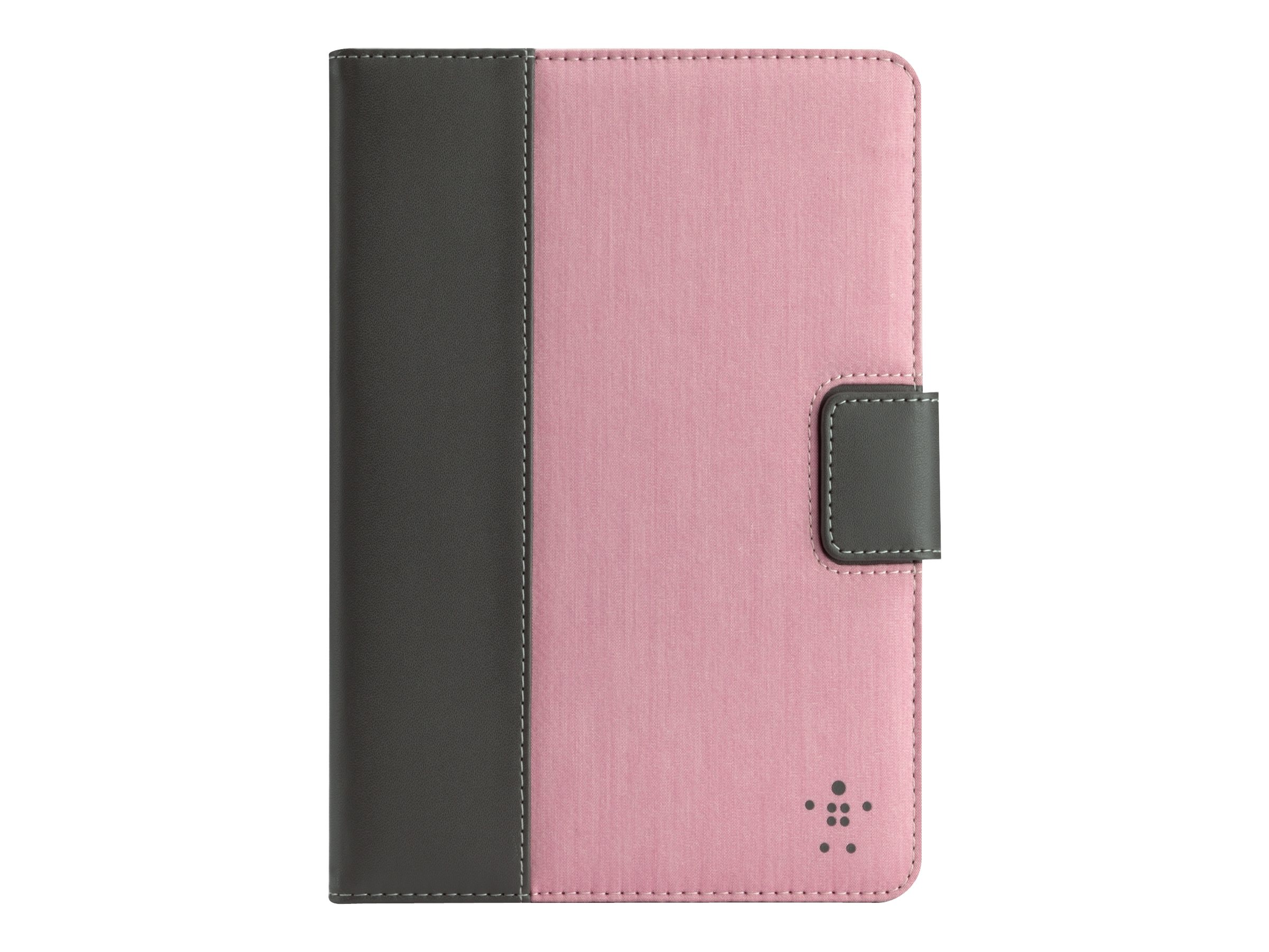 Belkin Chambray Tab Cover with Stand for iPad mini, Pink, F7N004TTC03, 14987029, Carrying Cases - Tablets & eReaders