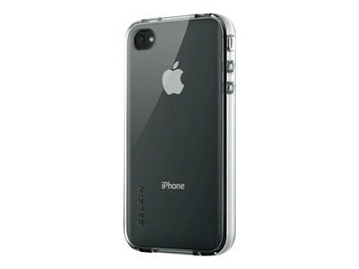 Belkin Grip Vue Case for iPhone 4, Clear, F8Z642TTCLR, 11733891, Protective & Dust Covers