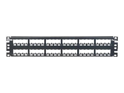 Panduit Mini-Com All Metal Shielded Modular Patch Panels, CP48BLY, 8369371, Patch Panels