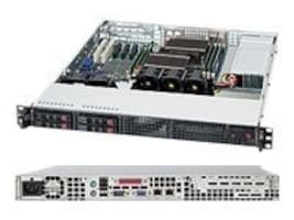 Supermicro Chassis, 1U RM, EATX, 4x2.5 HS Bays, 560W PS, Black, CSE-111TQ-563CB, 12620477, Cases - Systems/Servers