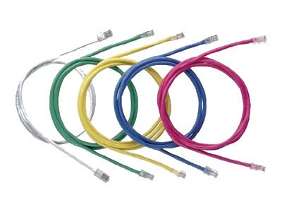 Panduit CAT6 UTP Copper Patch Cable, Off White, 7ft, NK6PC7Y