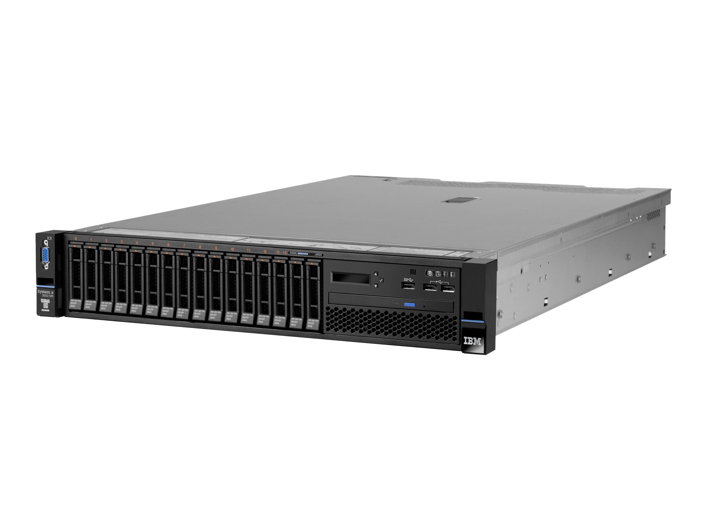 IBM System x3650 M5 Intel 2.4GHz Xeon, 5462D2U, 17906714, Servers