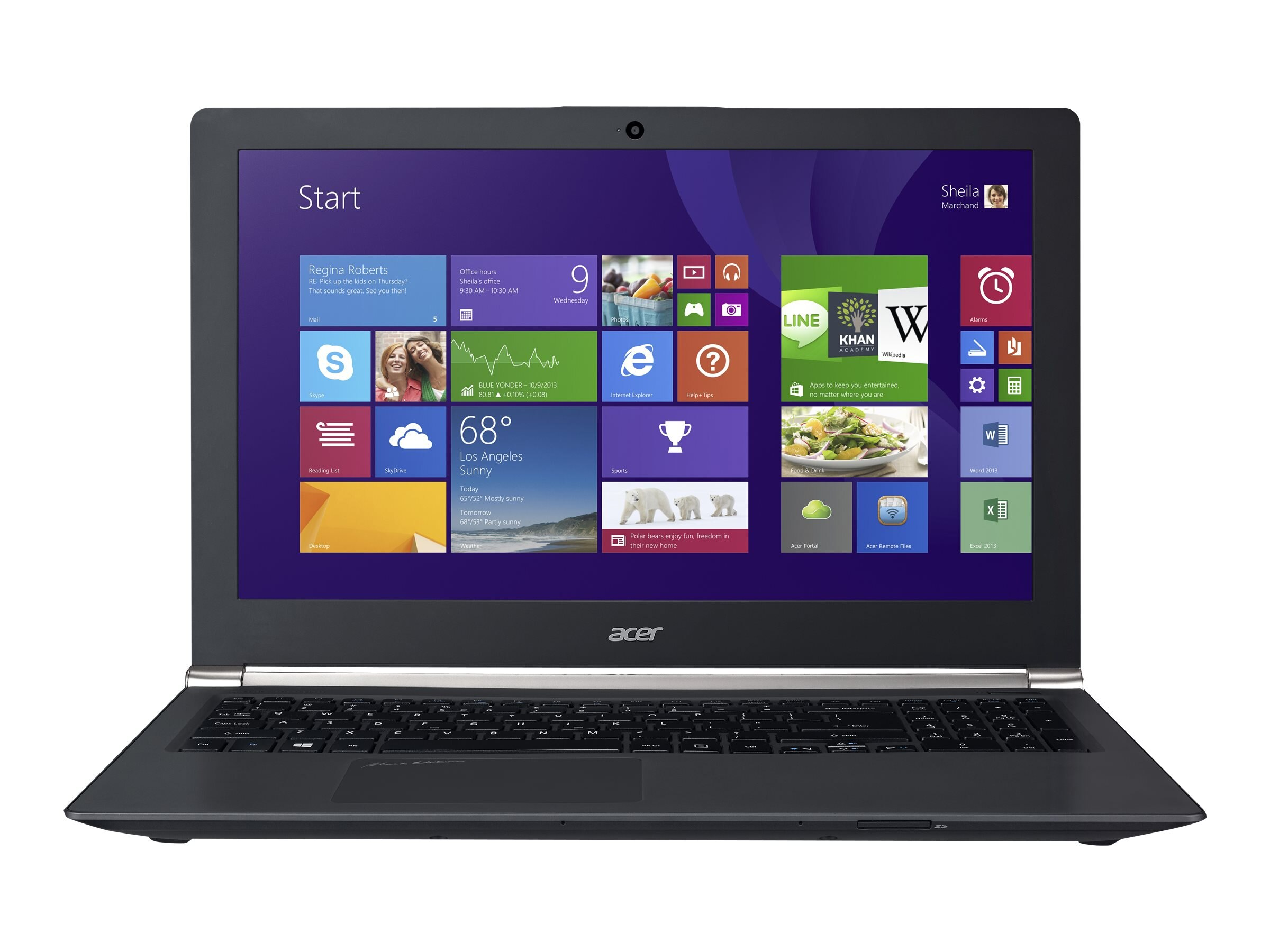 Acer Aspire VN7-571G-719D 2.4GHz Core i7 15.6in display, NX.MUXAA.001