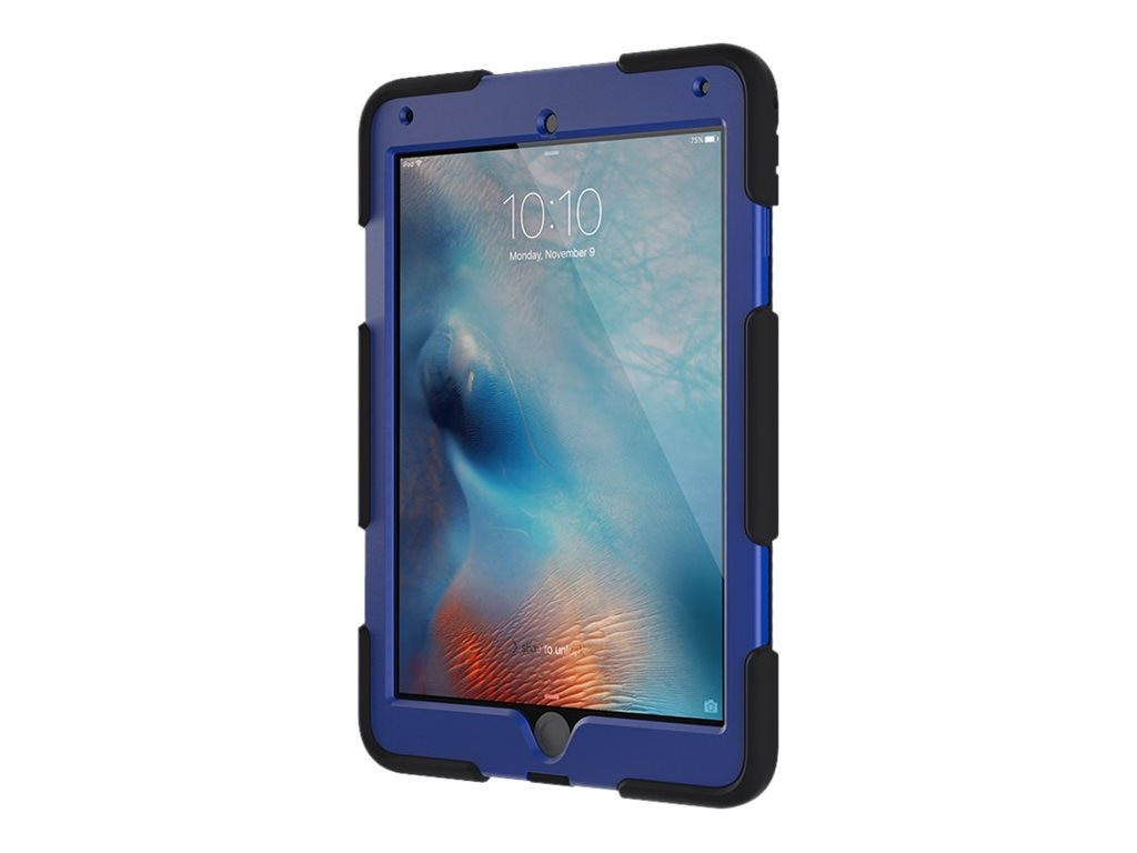 Griffin Survivor All-Terrain iPad Air 2 & iPad Pro 9.7, Black Blue, GB41874, 31867011, Carrying Cases - Tablets & eReaders