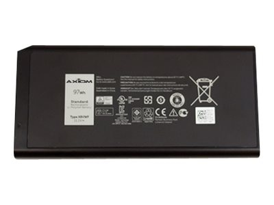 Axiom Li-Ion 9-Cell Battery for Dell 453-BBBE YGV51, 453-BBBE-AX, 31804466, Carrying Cases - Notebook