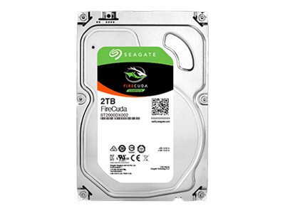 Seagate 2TB FireCuda 2.5 7mm Flash-Accelerated Hard Drive, ST2000LX001