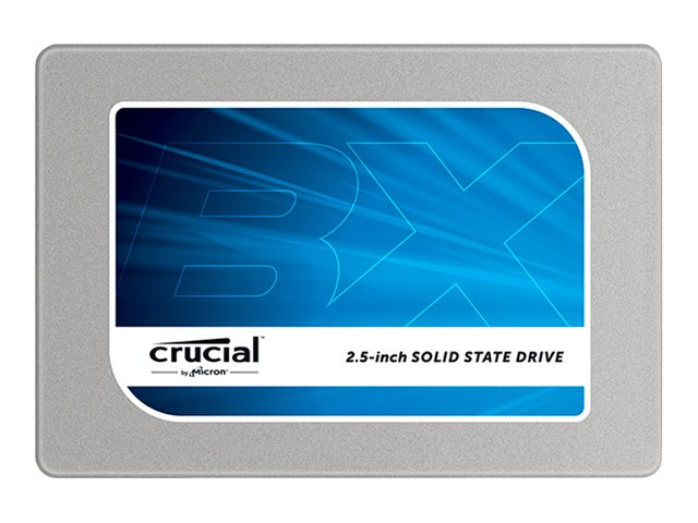Crucial 120GB BX100 SATA 2.5 7mm Internal Solid State Drive, CT120BX100SSD1, 18401902, Solid State Drives - Internal