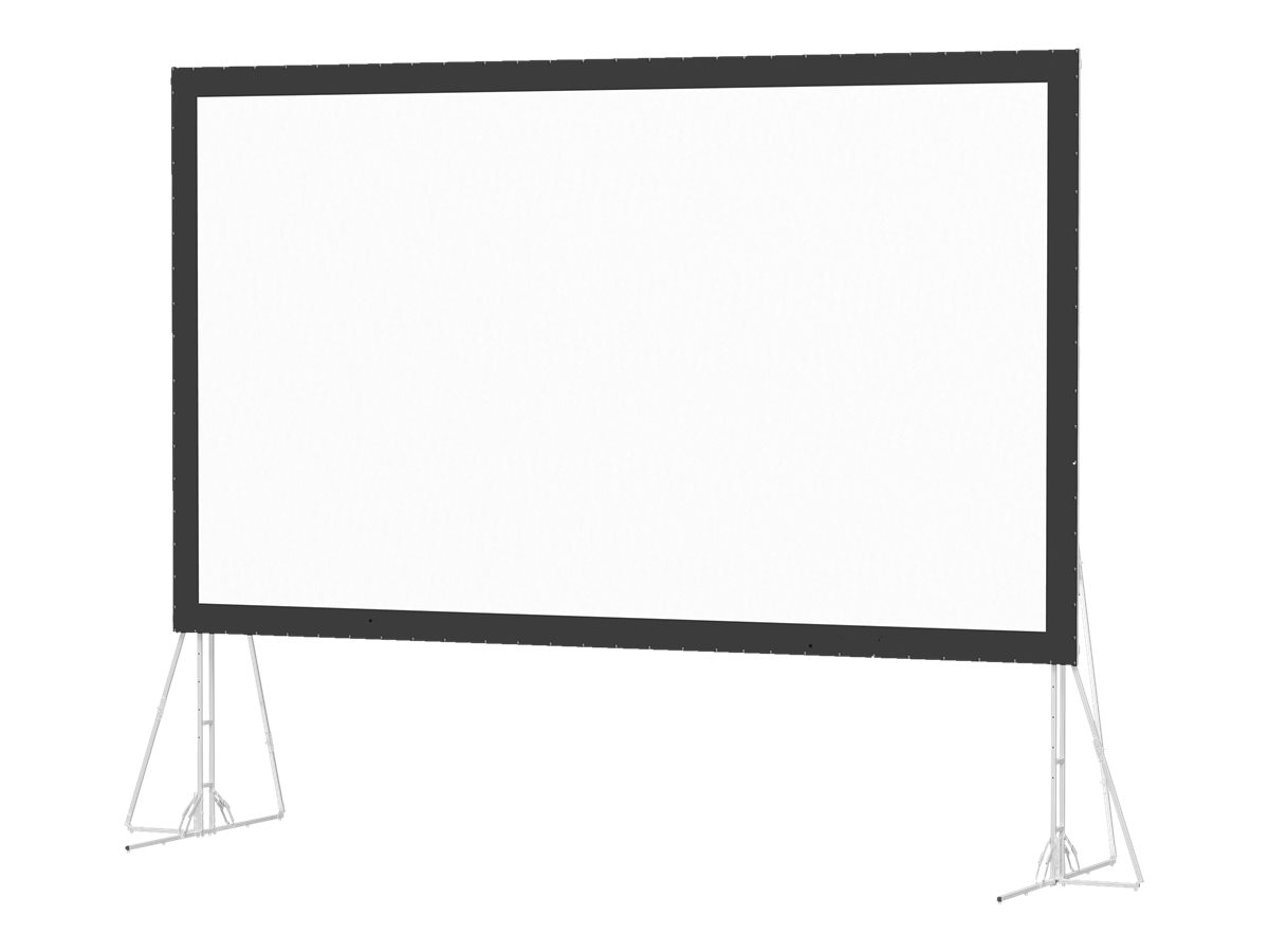Da-Lite Fast-Fold Truss Projection Screen, Dual Vision, 16:9, 10' x 17'