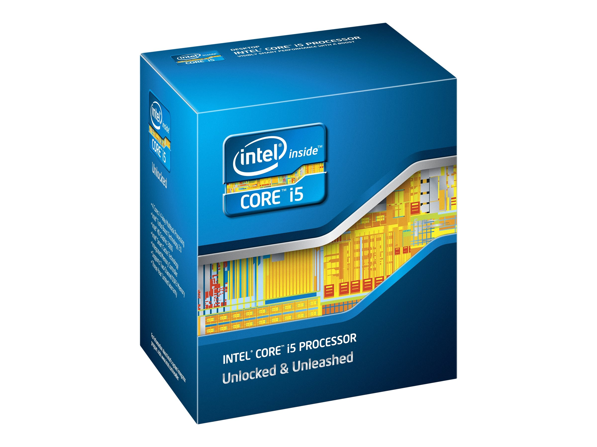 Intel Processor, Core i5-2380P 3.1GHz 6MB 95W, BX80623I52380P