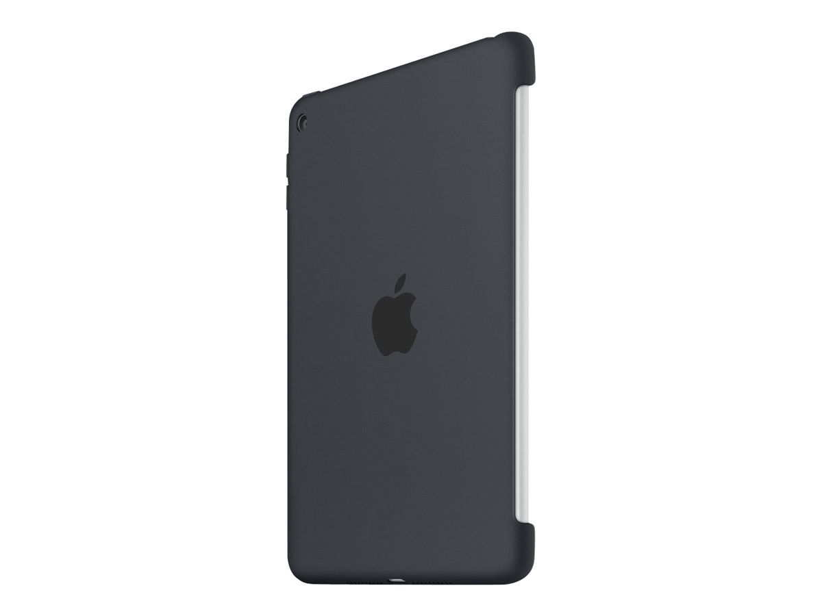 Apple iPad mini 4 Silicone Case, Charcoal Gray, MKLK2ZM/A