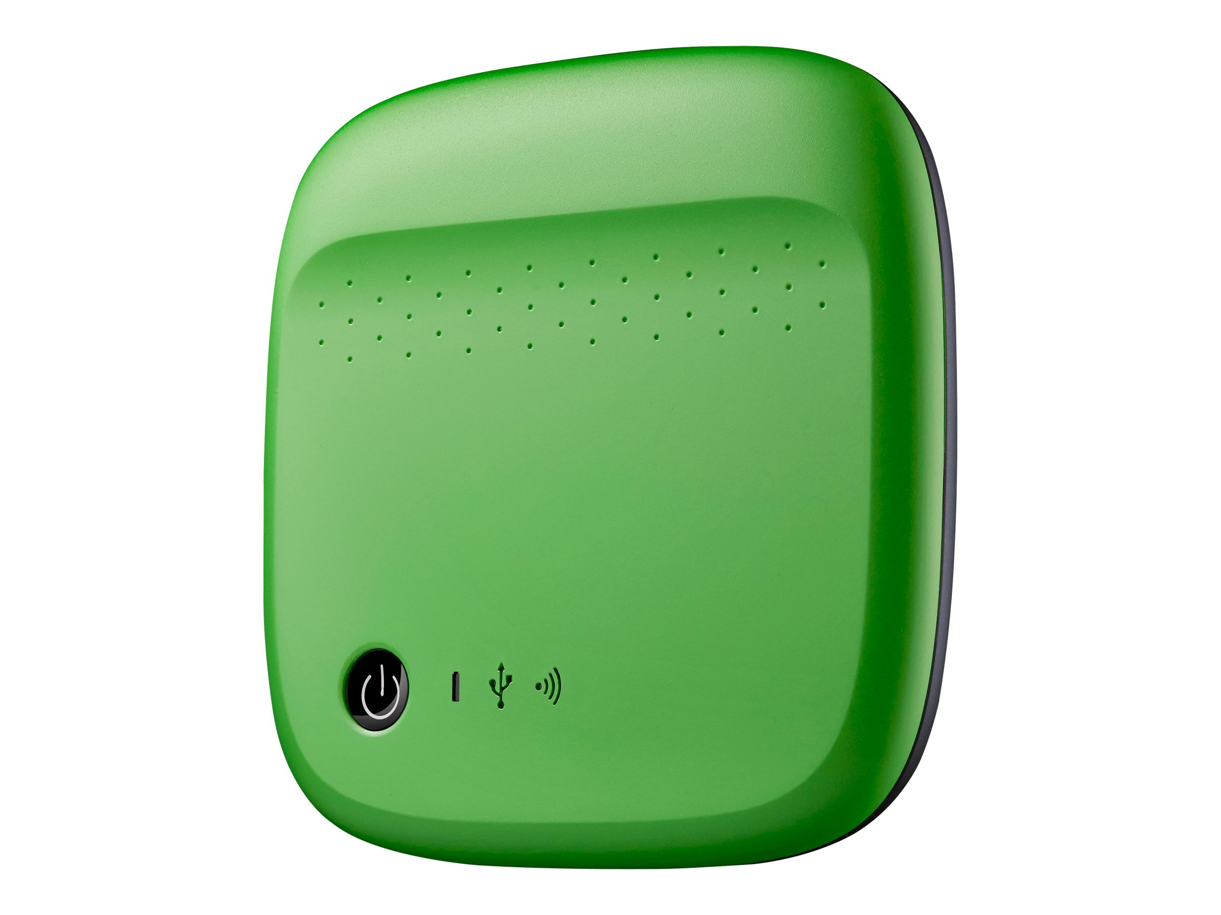 Seagate 500GB Wireless Mobile Device Storage for 2.5 USB 2.0 External Hard Drive, Green