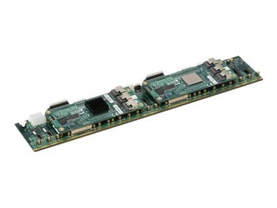 Supermicro 2U SAS Backplane (with Two LSI SASX28 Expander), x24 2.5 HDD, SC216's, BPN-SAS-216EL2, 11861009, Motherboard Expansion