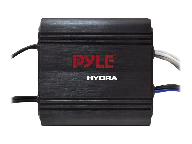 Pyle 2-Channel 400W Waterproof Micro Marine Amp 6.5 Speaker System, PLMRKT2B