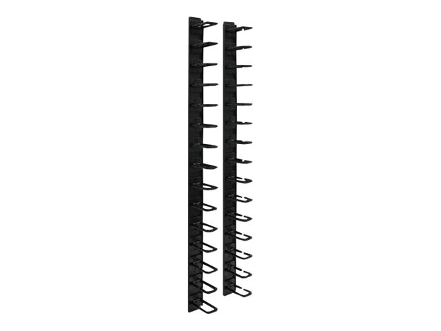 Tripp Lite Vertical Cable Manager, Ring Style, 6ft, SRCABLERINGVRT, 8880321, Rack Cable Management