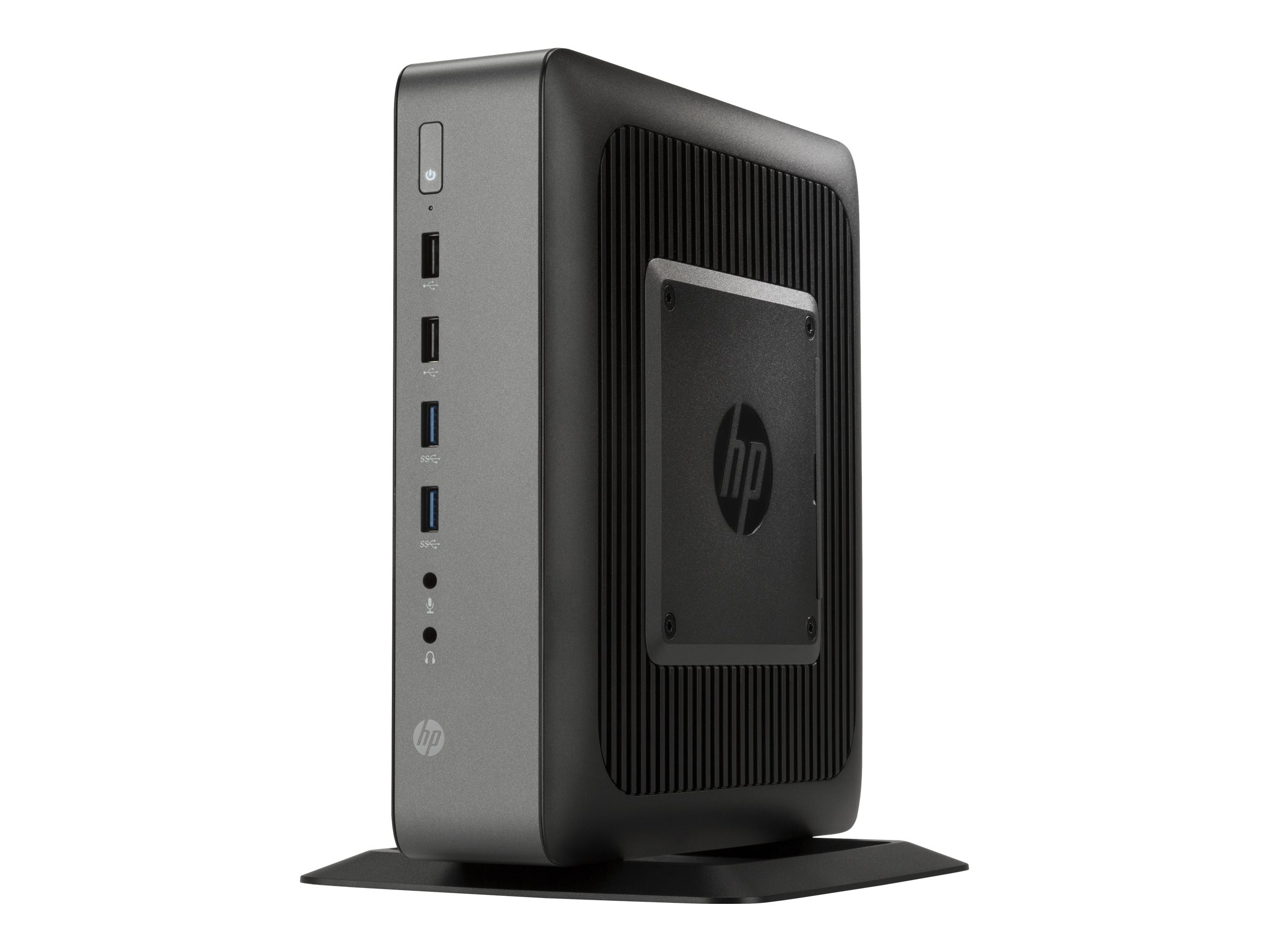 HP t620 PLUS Flexible Thin Client AMD QC GX-420CA 2.0GHz 8GB 64GB Flash HD8400E VGA W10 IoT, V2V62UA#ABA
