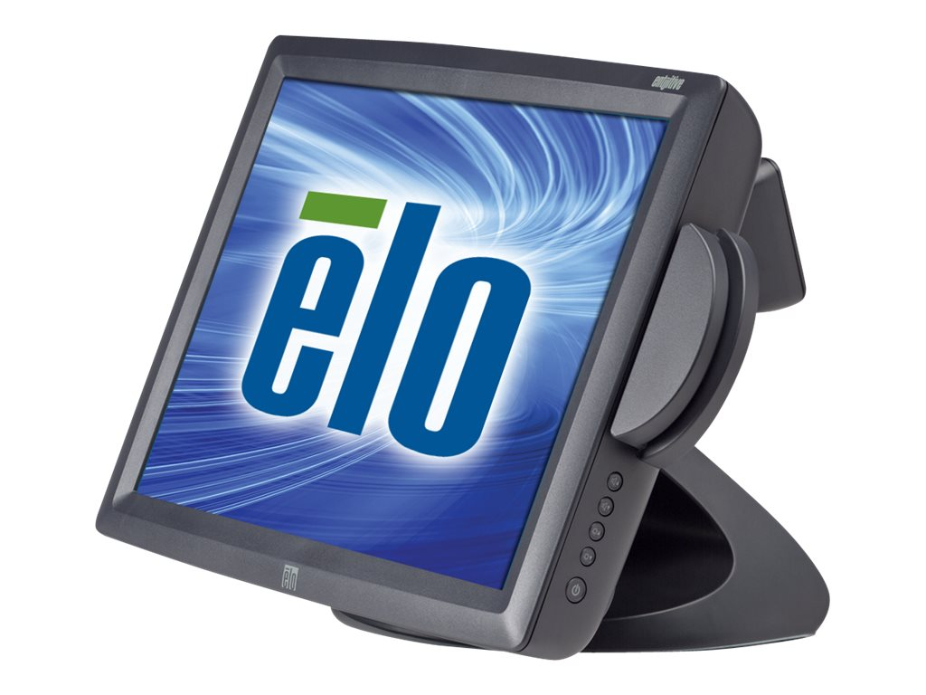 ELO Touch Solutions 15 1529L AccuTouch LCD Monitor with USB Interface Hub, MSR Keyboard, Dark Gray, RoHS, E659634, 7983492, Monitors - LCD