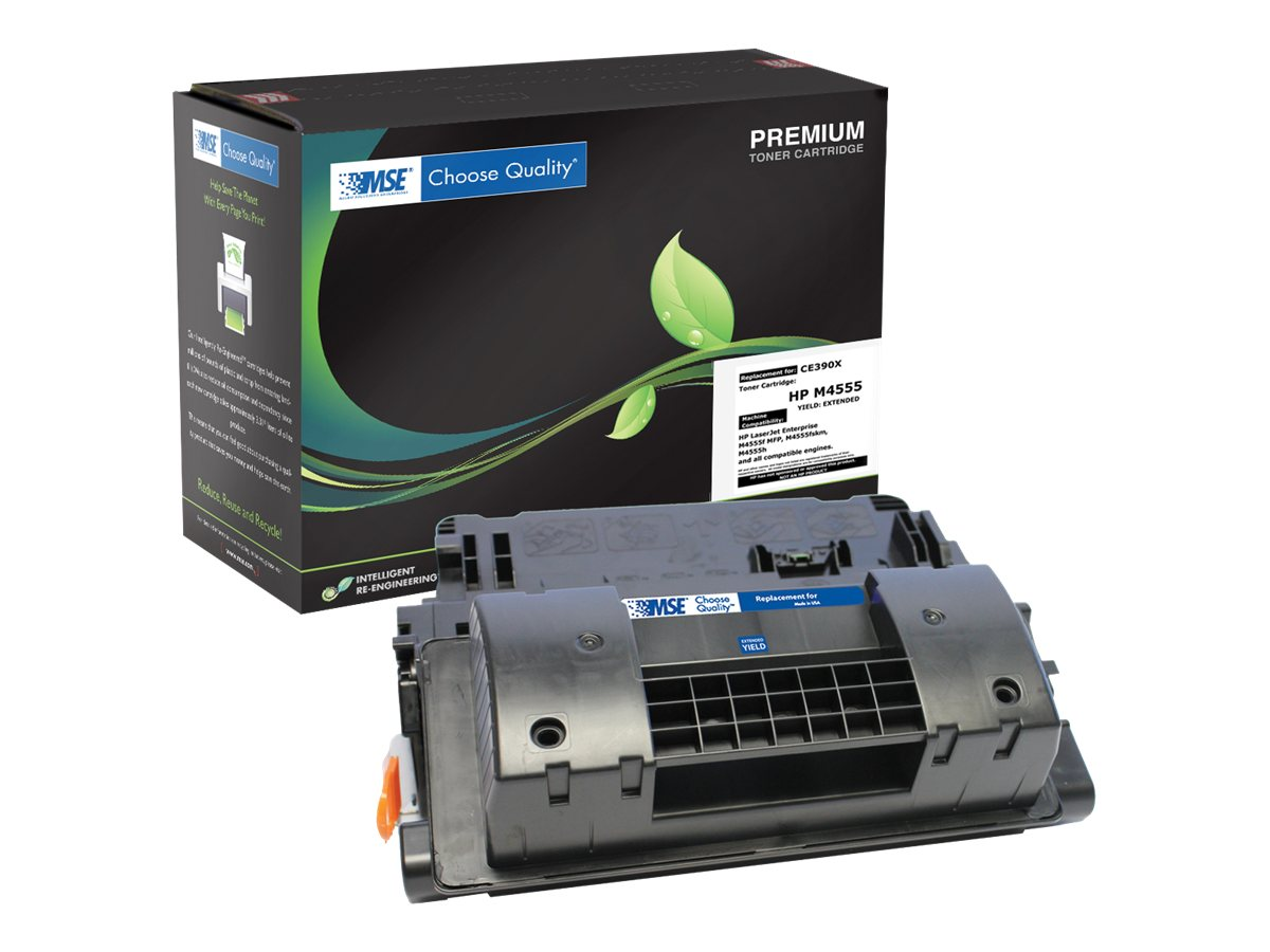 CE390X Black Extended Yield Toner Cartridge for HP