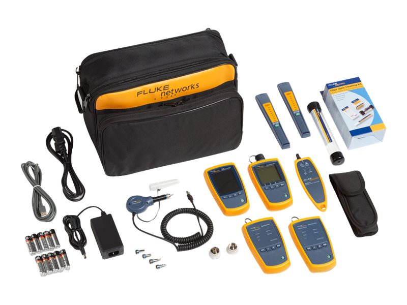 Fluke Single and MMF Fiber Power Meter Inspect and Cleaning