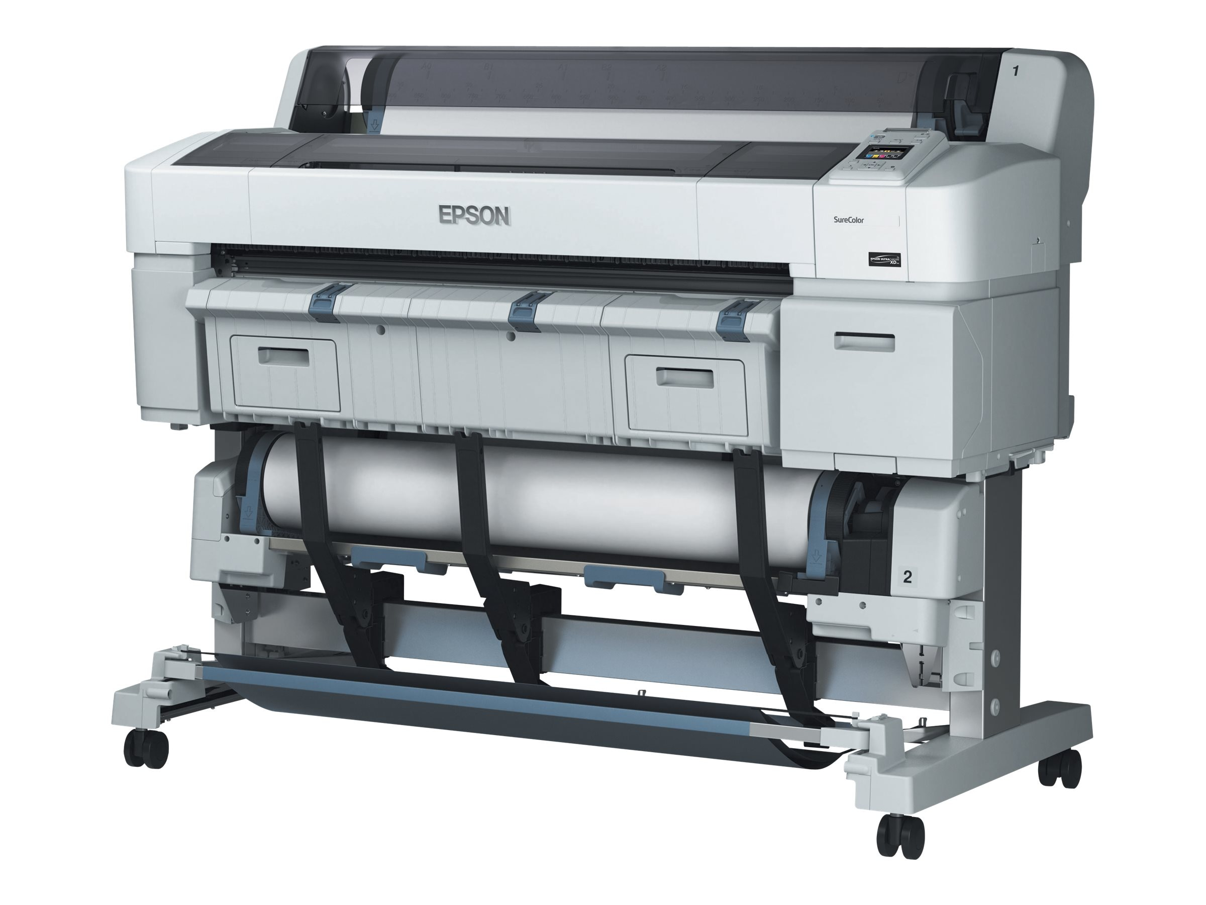 Epson SureColor T5270D Dual Roll Printer - $5995 less instant rebate of $750.00, SCT5270DR, 17929781, Printers - Large Format