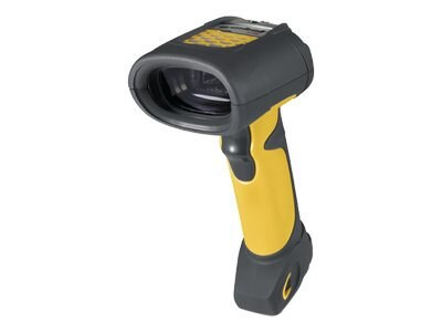 Zebra Symbol FZ Handheld Scanner, Fuzzy Logic, M-Interface, Black Yellow, LS3408-FZ20005R, 5384373, Bar Code Scanners