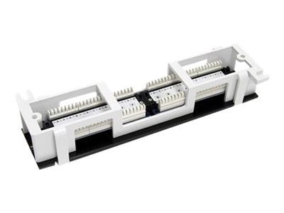 StarTech.com 12-port Professional Wallmount Patch Panel, PANEL4512