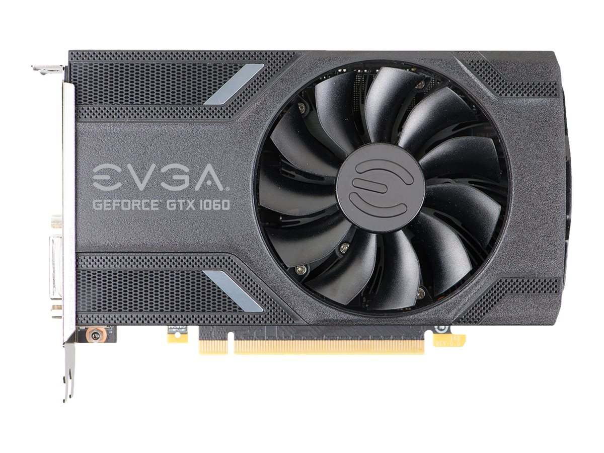 eVGA GeForce GTX 1060 PCIe 3.0 x16 Graphics Card, 3GB GDDR5, 03G-P4-6160-KR