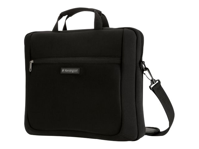 Kensington Simply Portable SP15 Neoprene Laptop Sleeve 15.6, Black, K62561USB, 31909655, Carrying Cases - Other