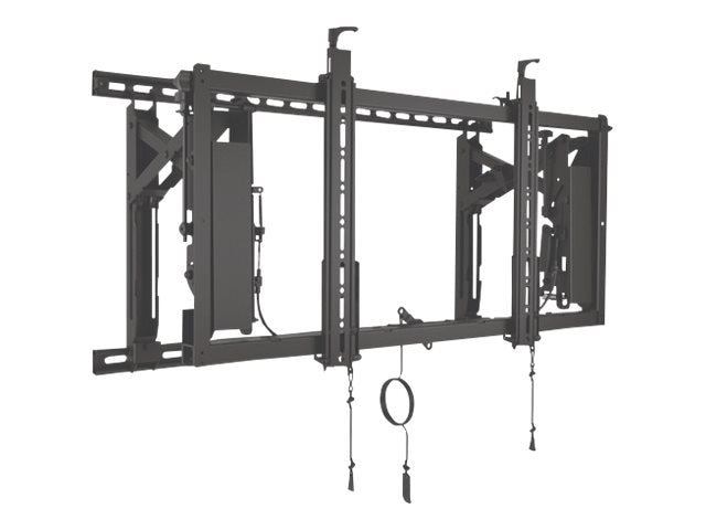 Chief Manufacturing ConnexSys Video Wall Mounting System for 42-80 Displays, Black, TAA Compliant, LVS1U-G, 28505094, Stands & Mounts - AV