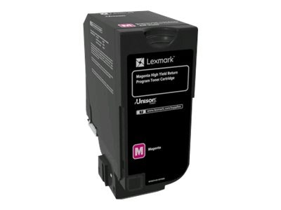 Lexmark Magenta High Yield Return Program Toner Cartridge for CX725 Series