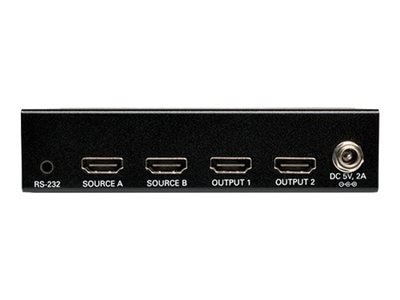 Tripp Lite 2x2 HDMI Matrix Switch for Video and Audio, 1920x1200 at 60Hz   1080p, Instant Rebate - Save $18, B119-2X2