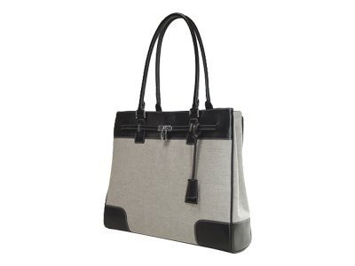 Mobile Edge Madison Tote, Taupe   Black