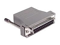C2G Modular Adapter, RJ-45 to DB25 (F), Gray, 02921, 9785713, Adapters & Port Converters