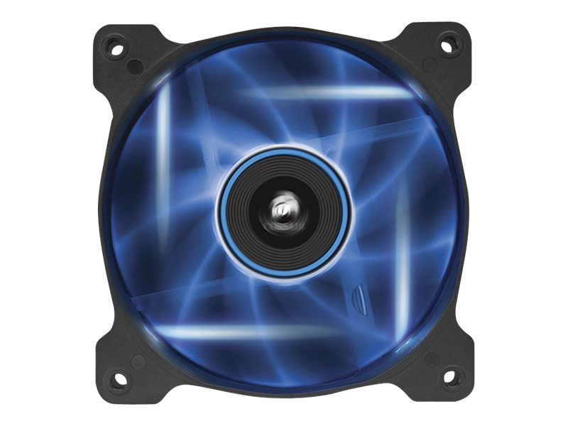 Corsair Air Series AF120 Case Fan Quiet Edition Blue LED, Single Pack, CO-9050015-BLED, 16375034, Cooling Systems/Fans