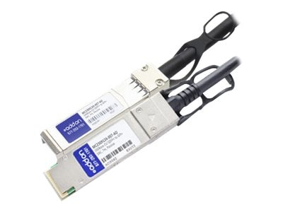 ACP-EP 10GBase-CU QSFP+ to SFP+ Passive Twinax Direct Attach Cable, 7m