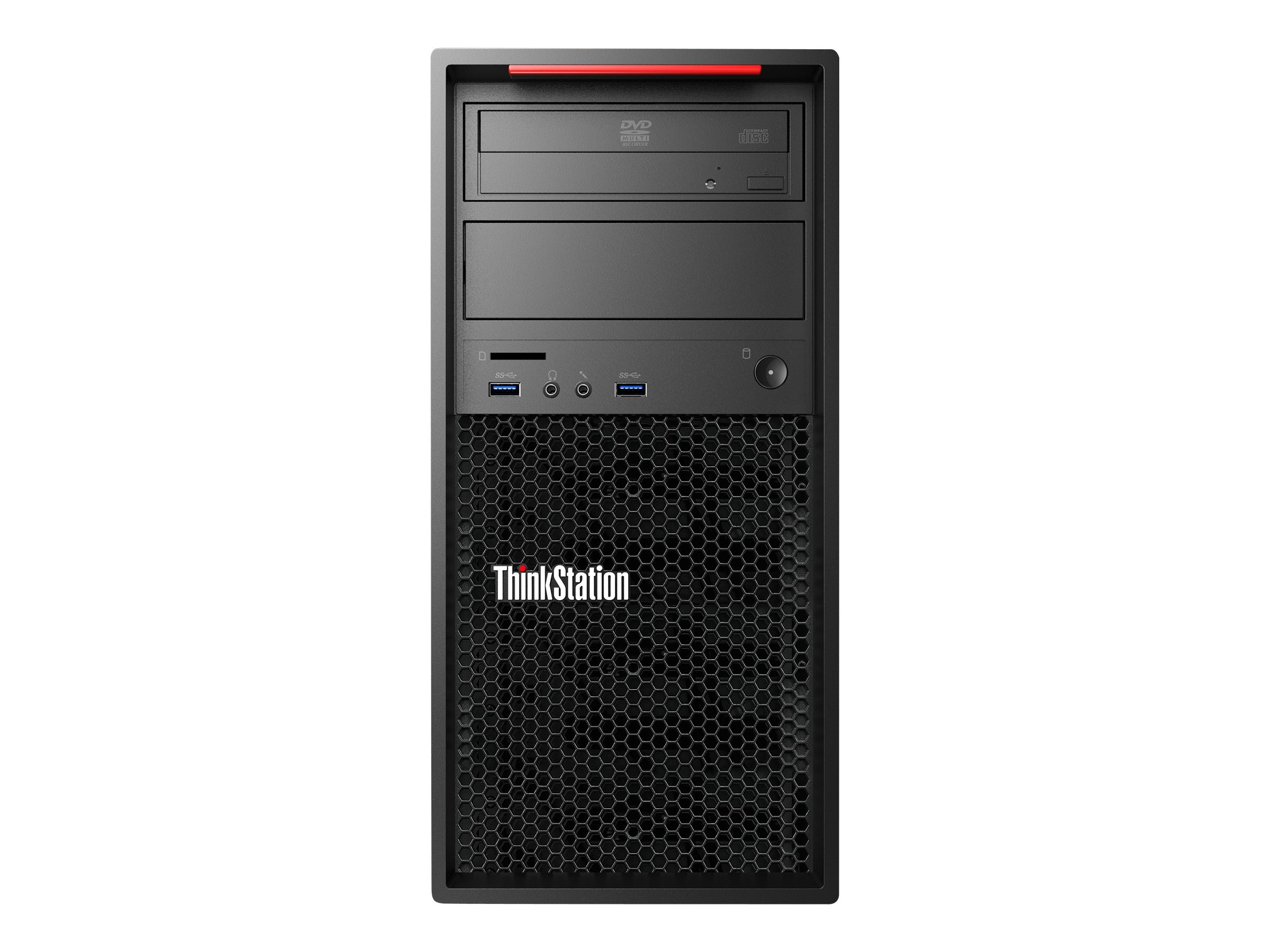 Lenovo ThinkStation P300 3.6GHz Core i3 Microsoft Windows 7 Professional 64-bit Edition   Windows 8.1 Pro, 30AG003GUS, 17402111, Workstations