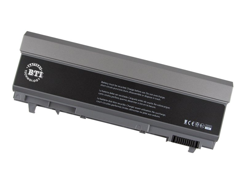 BTI 9-Cell Li-Ion Battery for Dell Latitude E6400 ATG, 312-0749-BTI