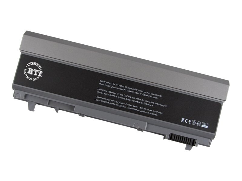 BTI 9-Cell Li-Ion Battery for Dell Latitude E6400 ATG, 312-0749-BTI, 15135653, Batteries - Notebook