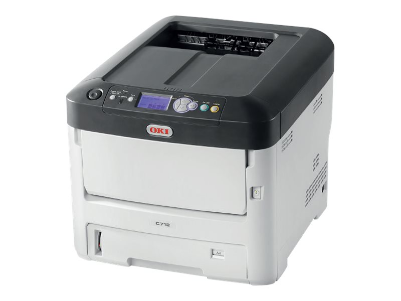 Oki C712dn Color Printer