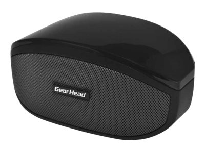 Gear Head Wireless Desktop Speaker w  Microphone, BT5000BLK, 31663683, Speakers - Audio