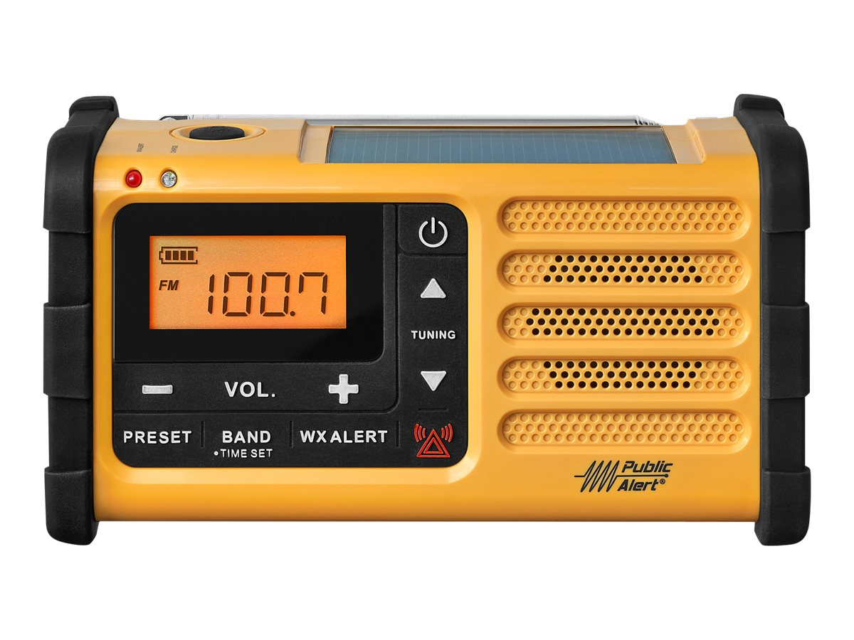 Sangean AM FM WX Emergency Radio, MMR-88
