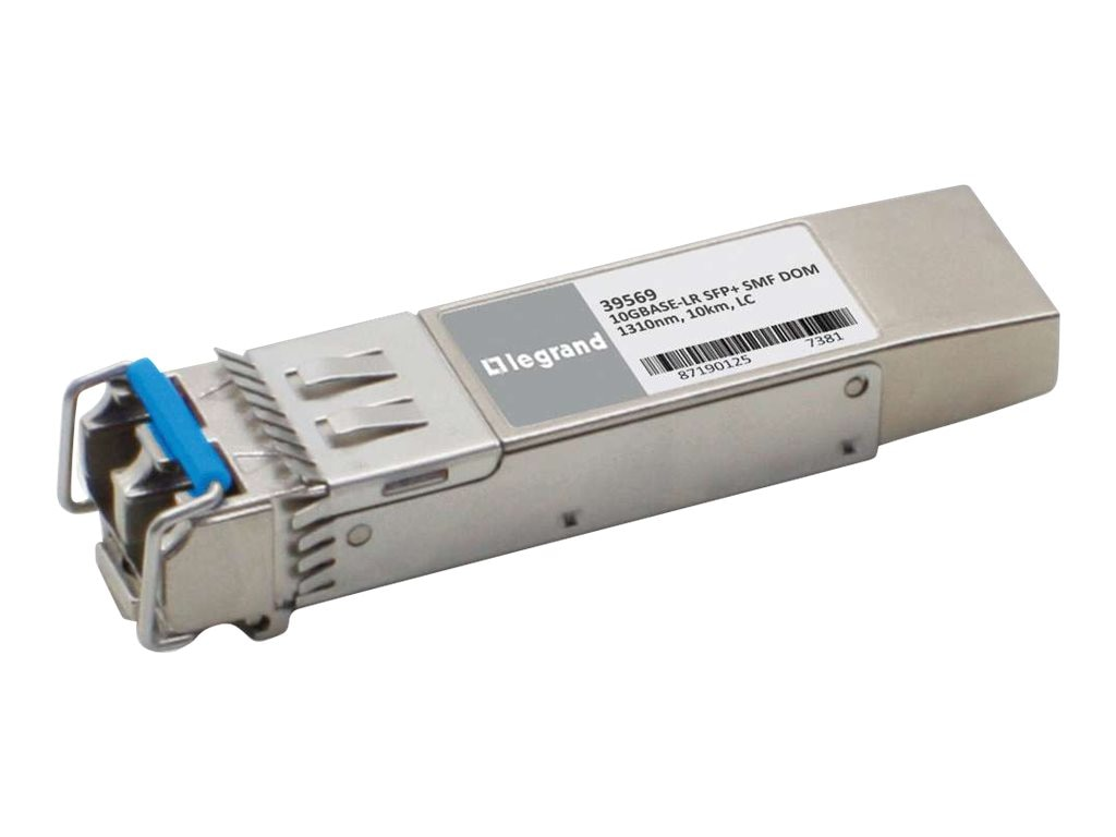 C2G 10GBASE-LR SMF SFP+ MINI-GBIC Transceiver Module HP J9151A Compatible, 39569, 16946482, Network Transceivers